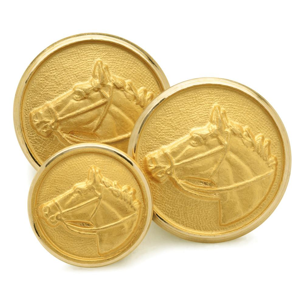 Horse Head Blazer Button Set (Single Breasted) Blazer Buttons Not specified