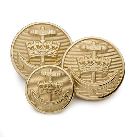Royal Yacht Britannia Blazer Button Set (Double Breasted)