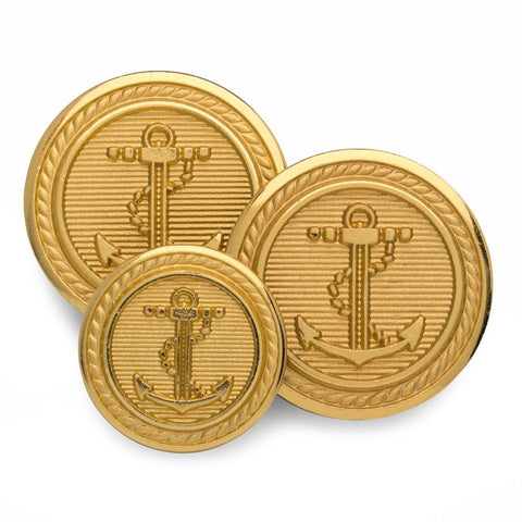 Anchor Blazer Button Set (Double Breasted)