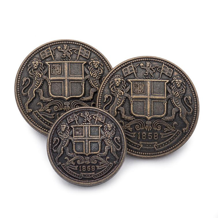 East India Company (Bronze) Blazer Button Set (Single Breasted)