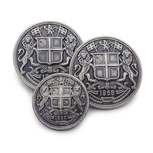 East India Company (Antique Silver) Blazer Button