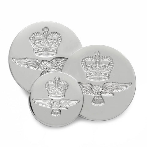 Royal Air Force (Silver) Blazer Button
