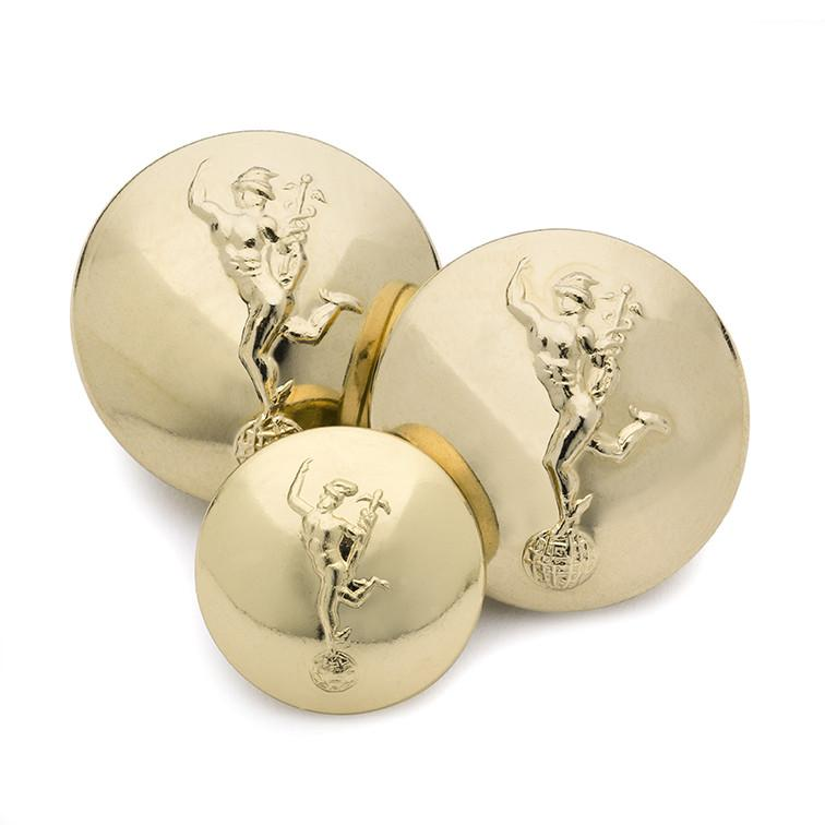 Royal Signals Blazer Button Set (Double Breasted)