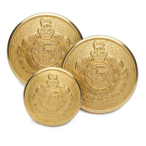 Royal Marines Blazer Button Set (Double Breasted)