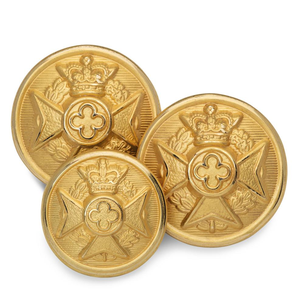 Maltese Cross Blazer Button Set (Double Breasted) Blazer Buttons Not specified
