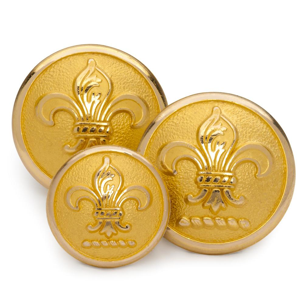 Fleur De Lys Blazer Button Set (Double Breasted)