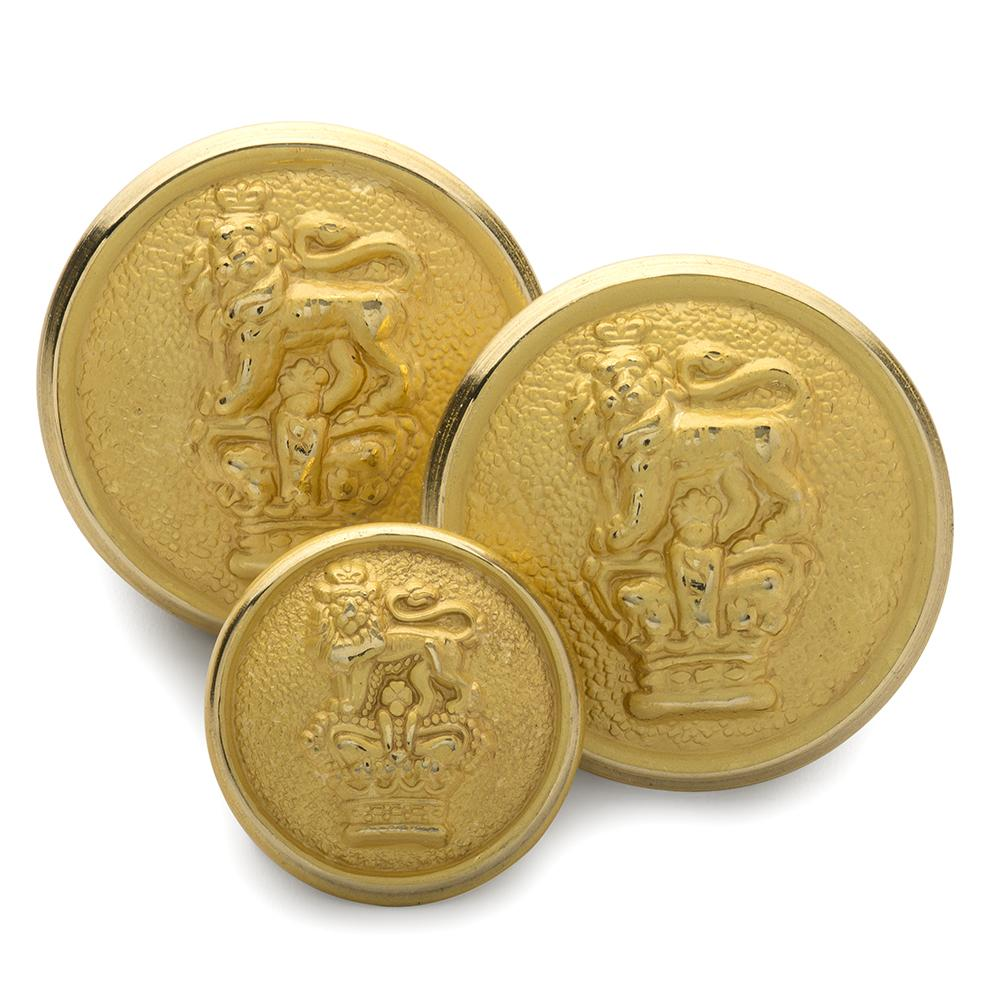 Crown & Lion Blazer Button Set (Double Breasted)