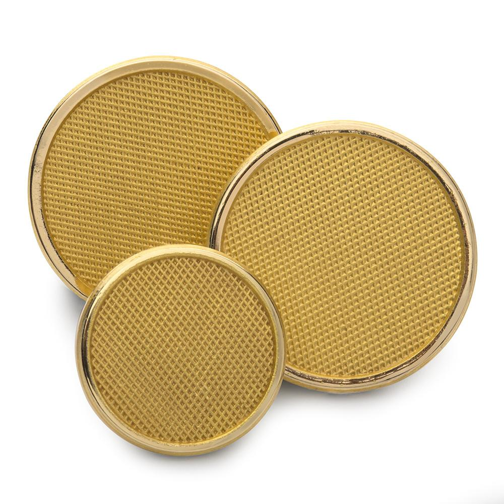 Diamond Weave Blazer Button Set (Double Breasted)