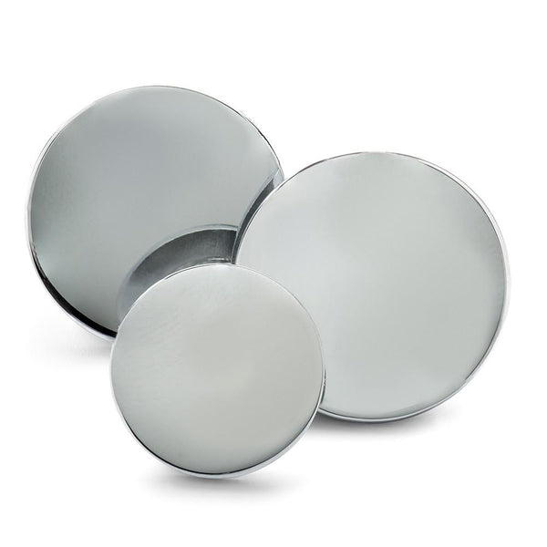 Chrome Blazer Button Set (Single Breasted) Blazer Buttons Not specified