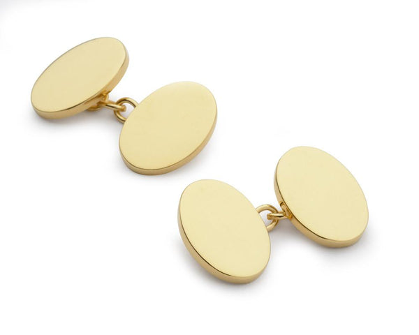 9ct Gold Cufflinks Cufflinks Not specified Chain