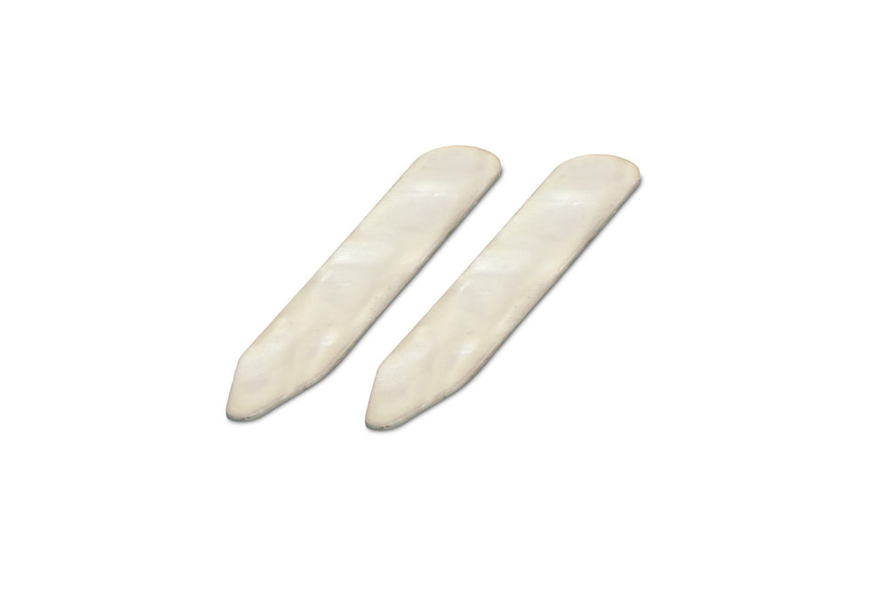 Mother Of Pearl Large Collar Stiffeners / Stays