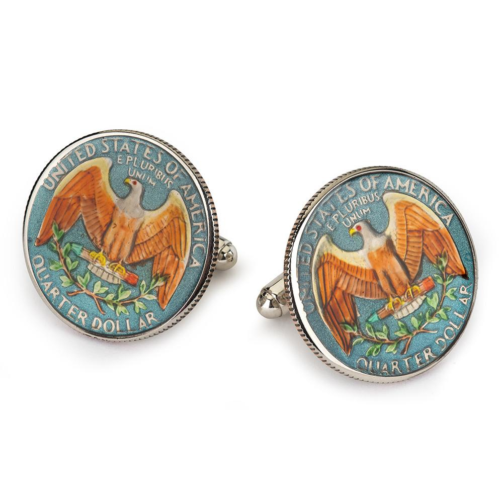 USA Quarter Dollar Coin Cufflinks Cufflinks Not specified