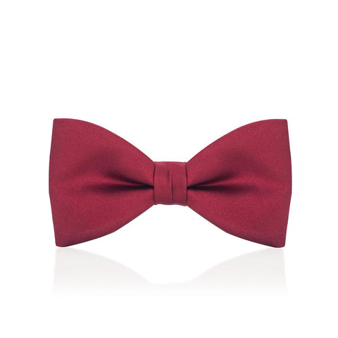 Red Satin Bow Tie Dresswear Not specified