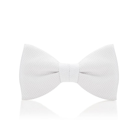 White Marcella Bow Tie Dresswear Not specified