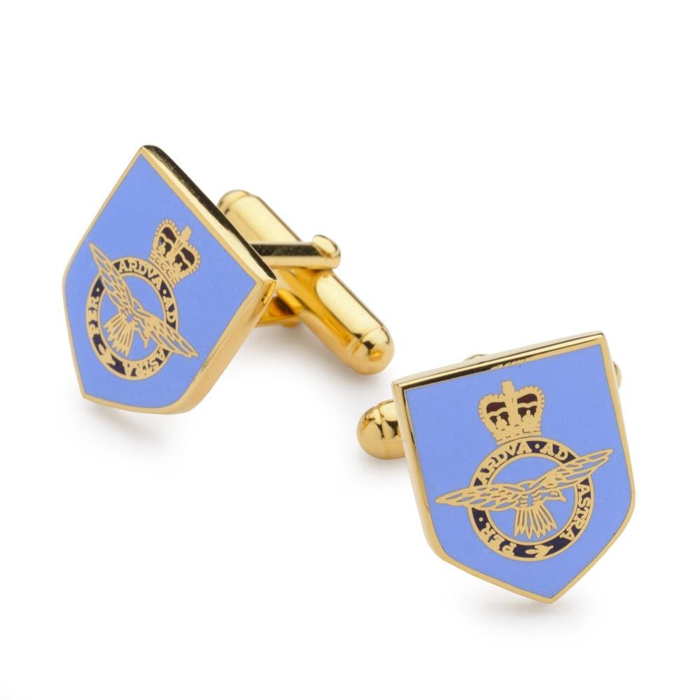 Royal Air Force Enamel Shield Cufflinks