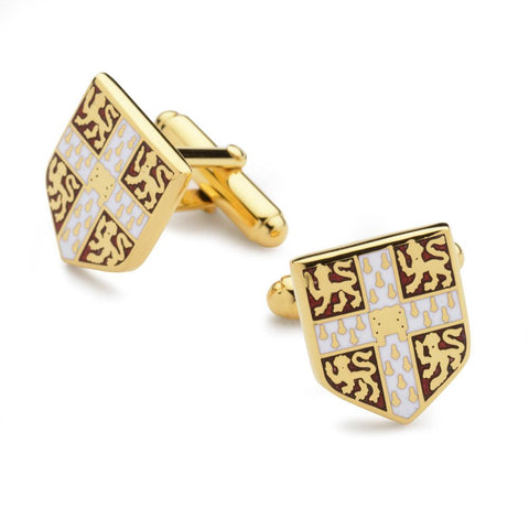 Cambridge University Enamel Shield Cufflinks