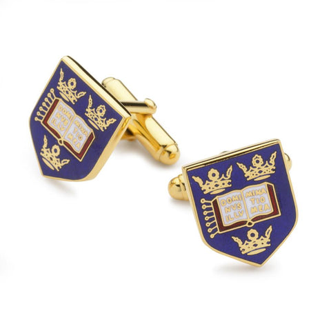 Oxford University Enamel Shield Cufflinks
