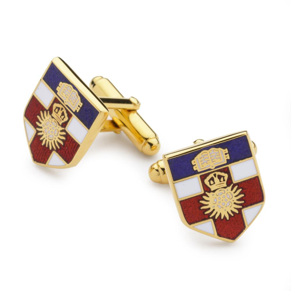 London University Enamel Shield Cufflinks