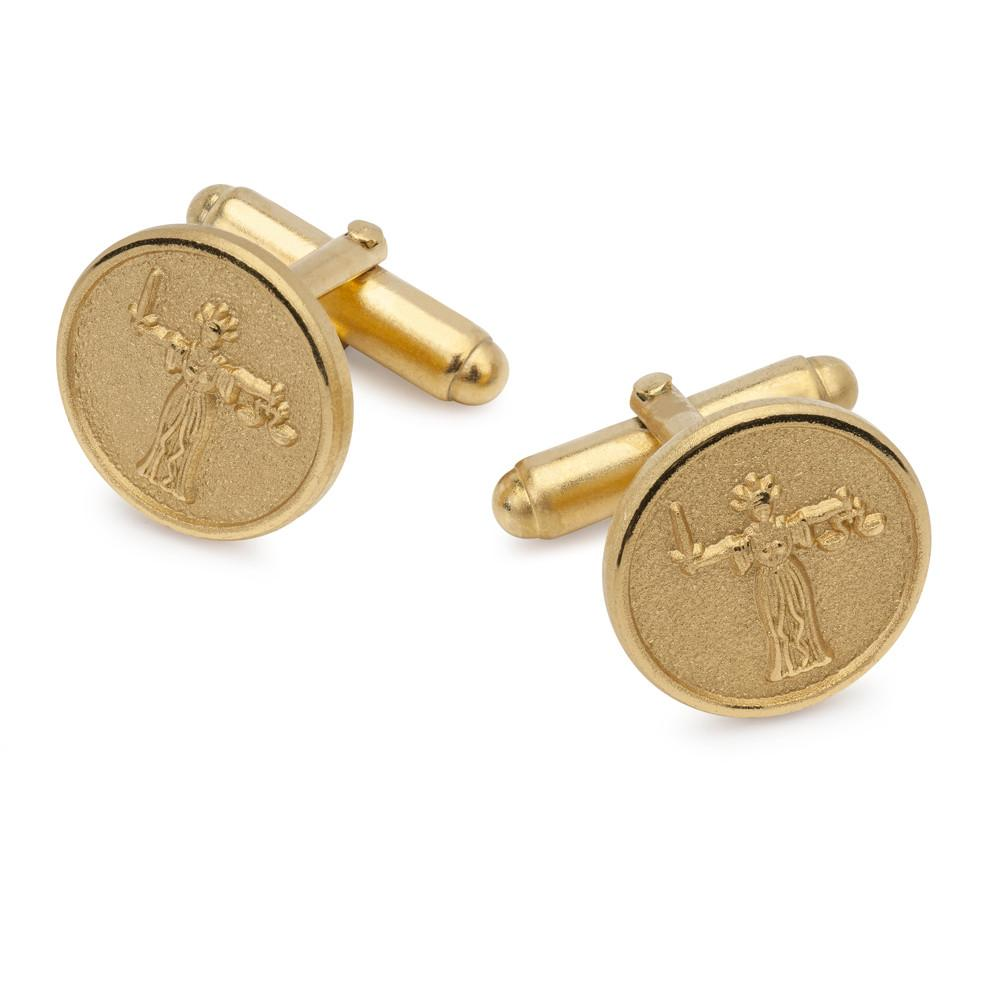 Justice Button Cufflinks