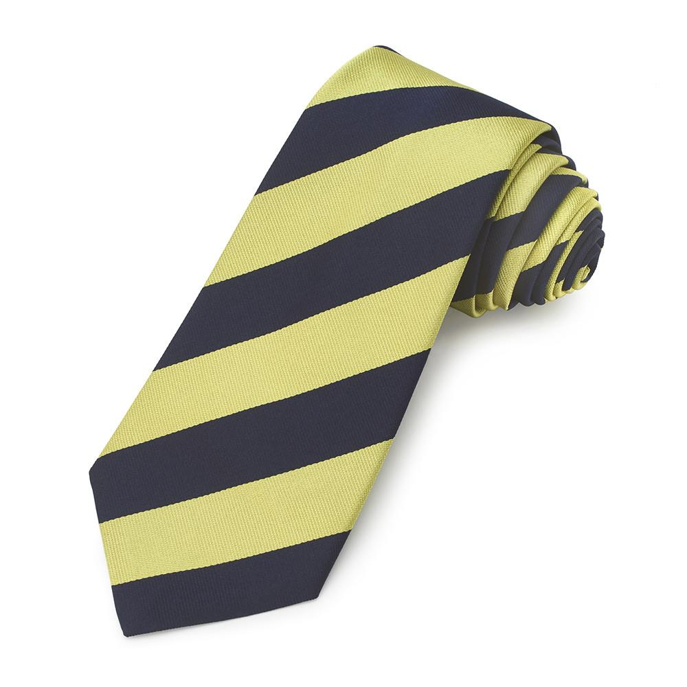 Regimental silk tie KING/'S ROYAL HUSSARS