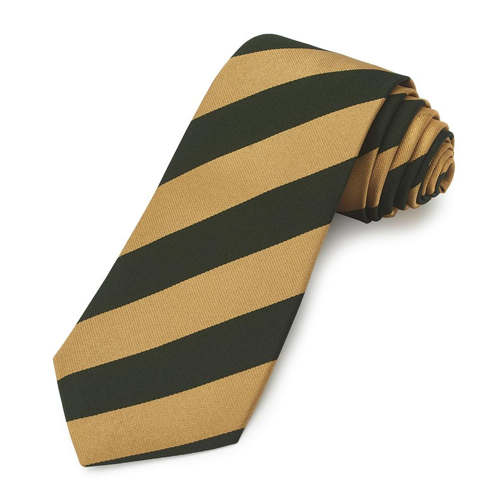 8th King's Royal Irish Hussars Three-Fold Silk Reppe Tie