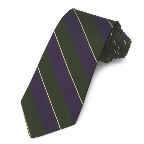 Argyll & Sutherland Highlanders (New Pattern) Three-Fold Silk Reppe Tie