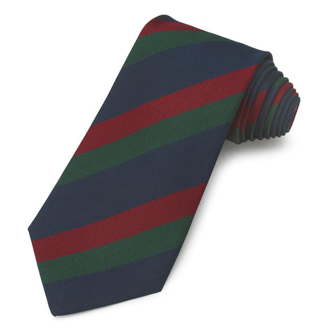 Black Watch (Royal Highland Regiment) Three-Fold Silk Non-Crease Tie