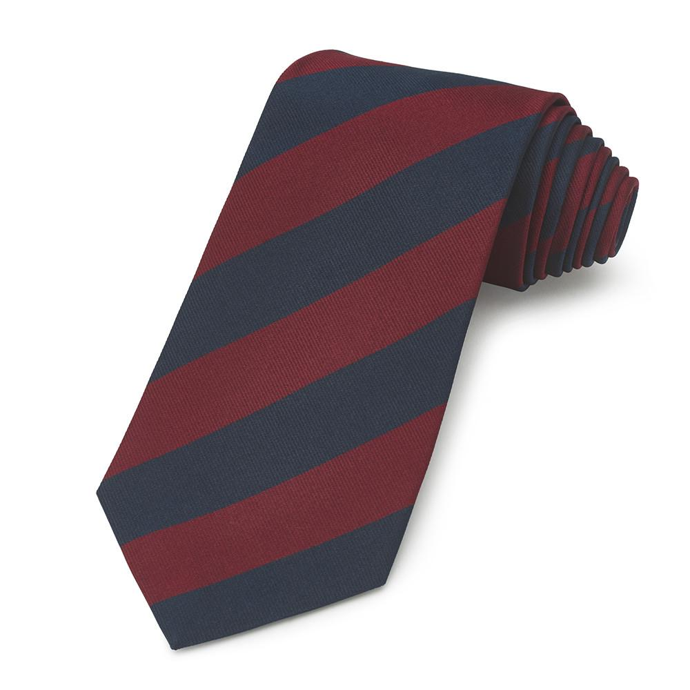 Brigade Of Guards Household Division Three-Fold Silk Tie Neckwear Benson And Clegg Silk Reppe