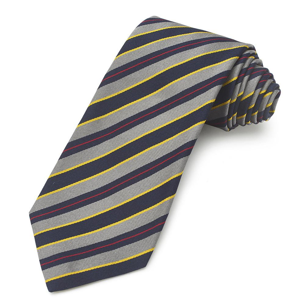 14th London Scottish Silk Reppe Tie