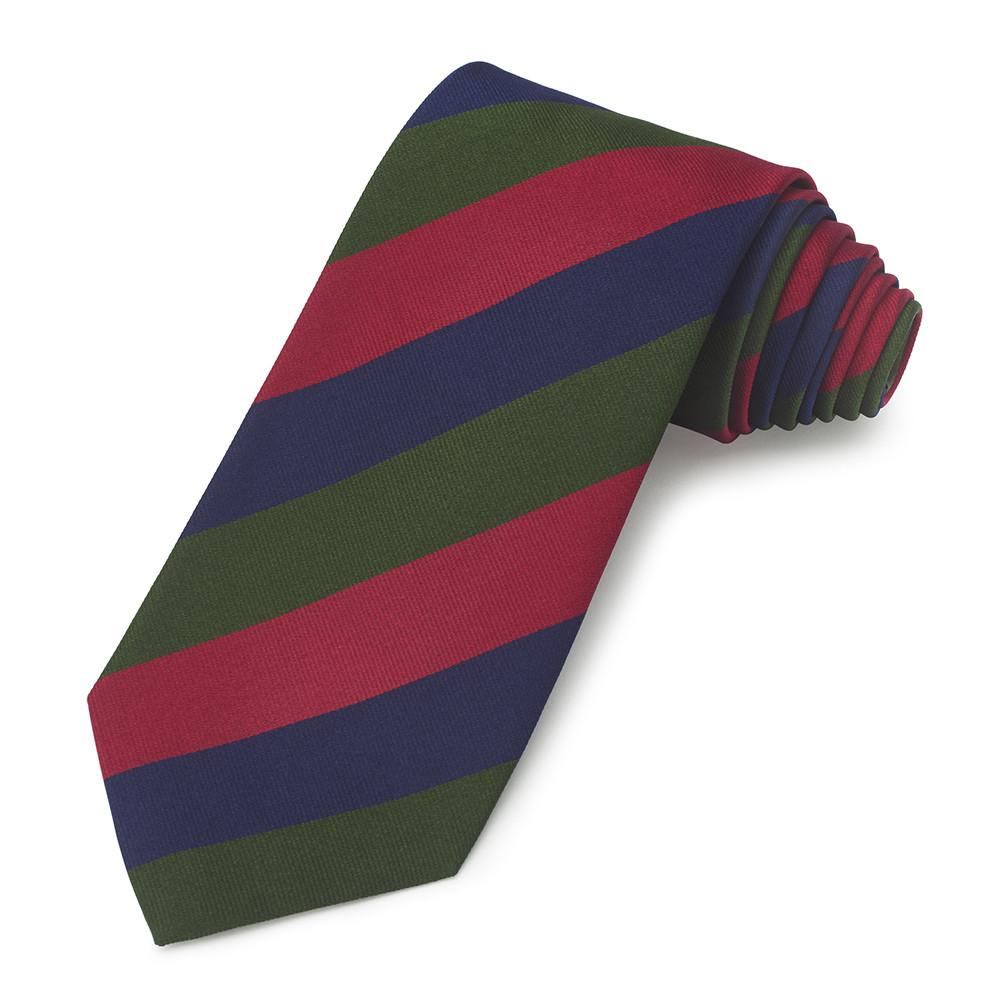 Royal Scots (Royal Regiment) Three-Fold Silk Reppe Tie