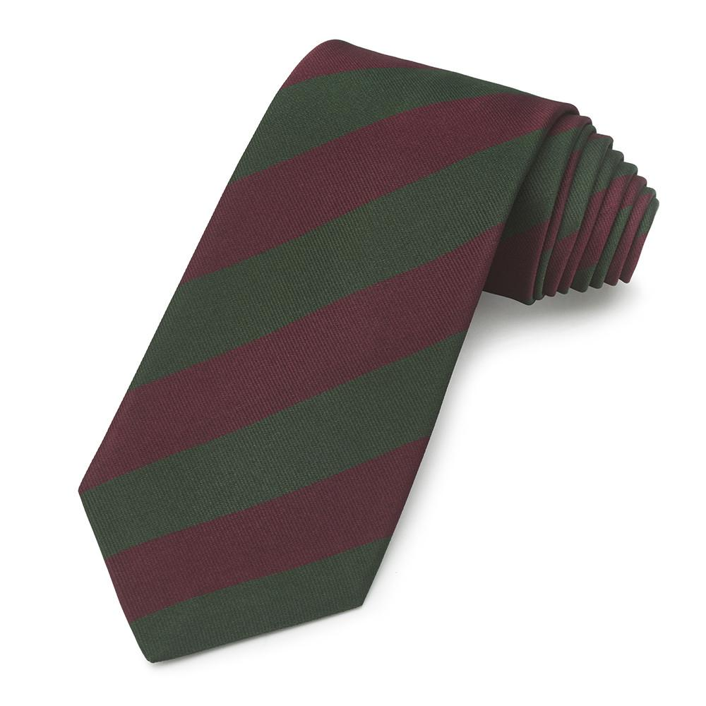 Sherwood Foresters Silk Tie