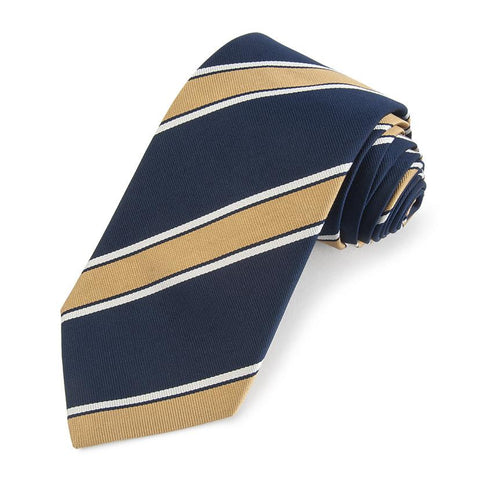 Assam Valley Light Horse Three-Fold Silk Reppe Tie