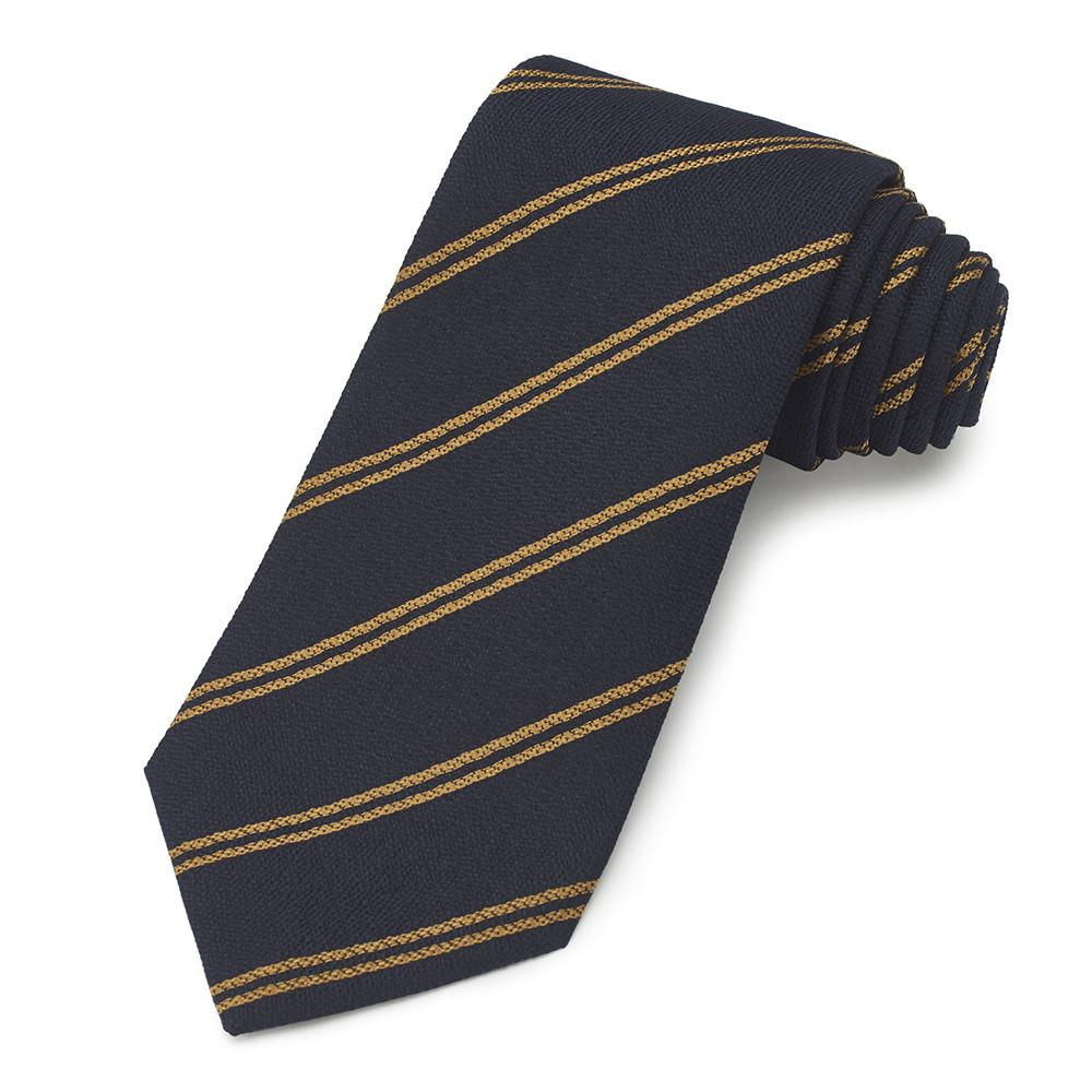 Colonial Police Three-Fold Silk Reppe Tie