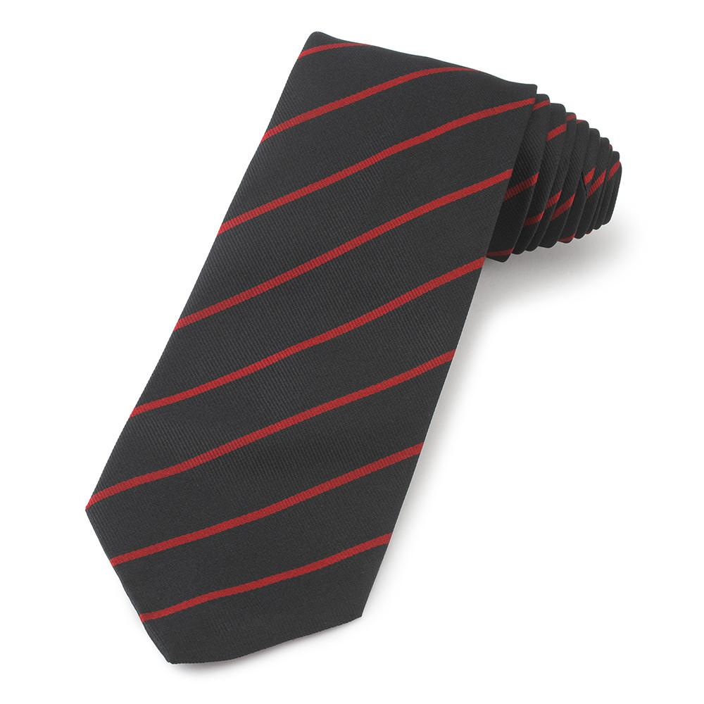 Royal Army Ordanance Corps (Navy / Red) Three-Fold Silk Reppe Tie