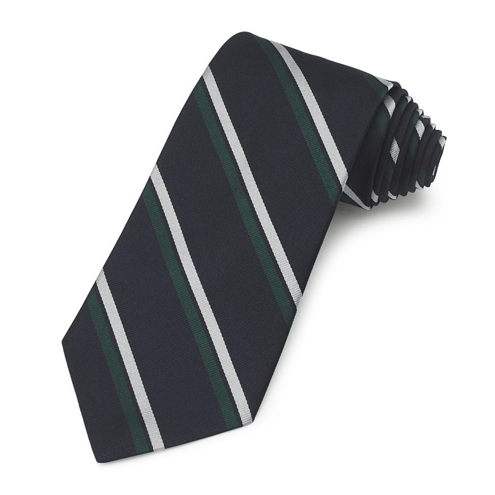 Royal Corps Of Signals Three-Fold Silk Reppe Tie