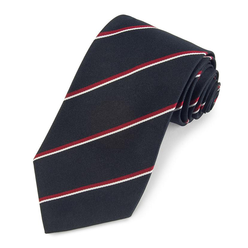 Royal Navy Three-Fold Silk Reppe Tie Neckwear Benson And Clegg