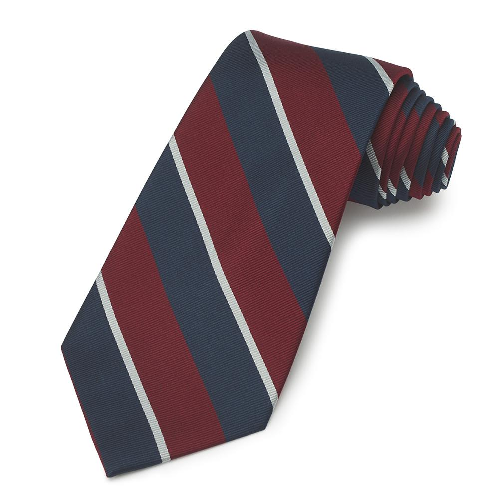 Royal Air Force Three-Fold Silk Tie Neckwear Benson And Clegg