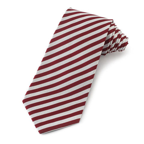 Middle Temple Three-Fold Silk Reppe Tie