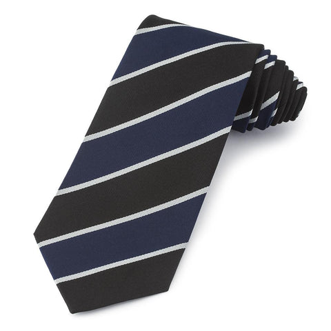 Dulwich College (Old Alleynian) Three-Fold Silk Reppe Tie