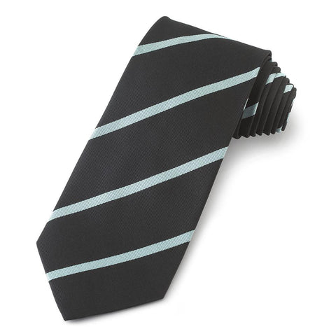 Eton College Three-Fold Silk Reppe Tie