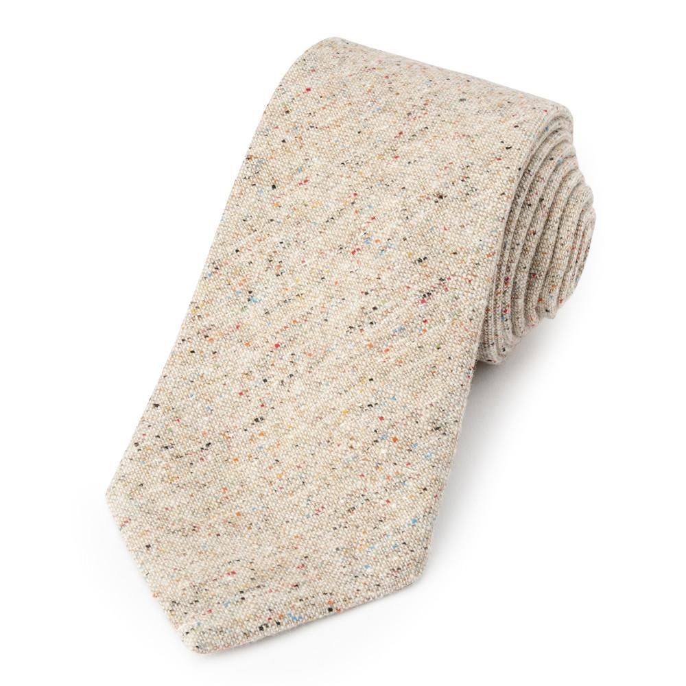 Donegal Wool (Cream) Tie