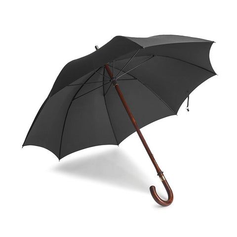 Solid Polished Cherrywood Umbrella