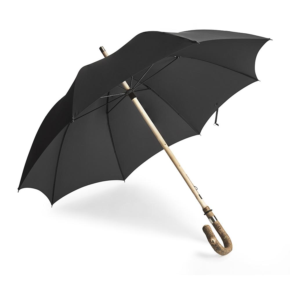 Solid Ash Crook Umbrella