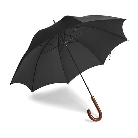 Dark Grained Hardwood Umbrella