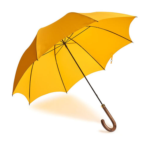 B&C Gentleman's Umbrella In Yellow