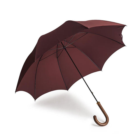 B&C Gentleman's Umbrella In Wine Accessories Not specified