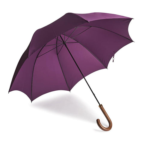 B&C Gentleman's Umbrella In Aubergene