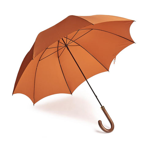 B&C Gentleman's Umbrella In Orange