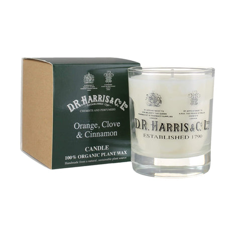 D. R. Harris Candle - Orange, Clove & Cinnamon Accessories D R Harris