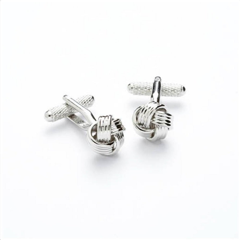 Knot Cufflinks In Silver Cufflinks Not specified